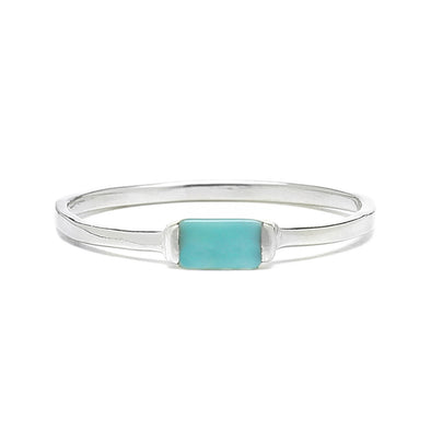 Pura Vida Womens Baguette Stone Ring - The Smooth Shop