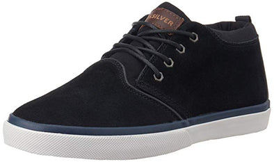 Quiksilver Mens Griffin Suede Mid-Top Shoes AQYS300005 - The Smooth Shop