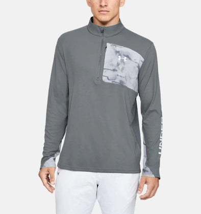 Under Armour Mens UA Iso Chill Shore Break 1/2 Zip Sweatshirt - The Smooth Shop