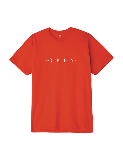 Obey Mens Novel T-Shirt - The Smooth Shop