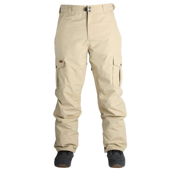 Ride Mens Phinney Pant Shell,  Khaki , XL - The Smooth Shop