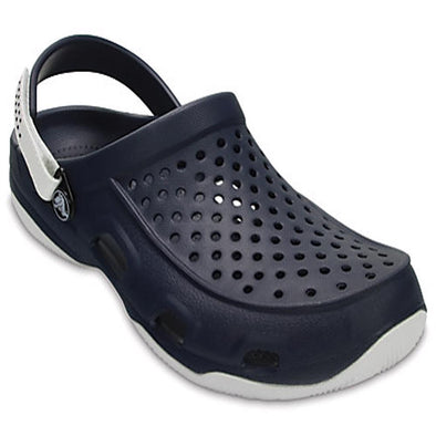 Crocs Mens Swiftwater Deck Clog Shoes 203981 - The Smooth Shop