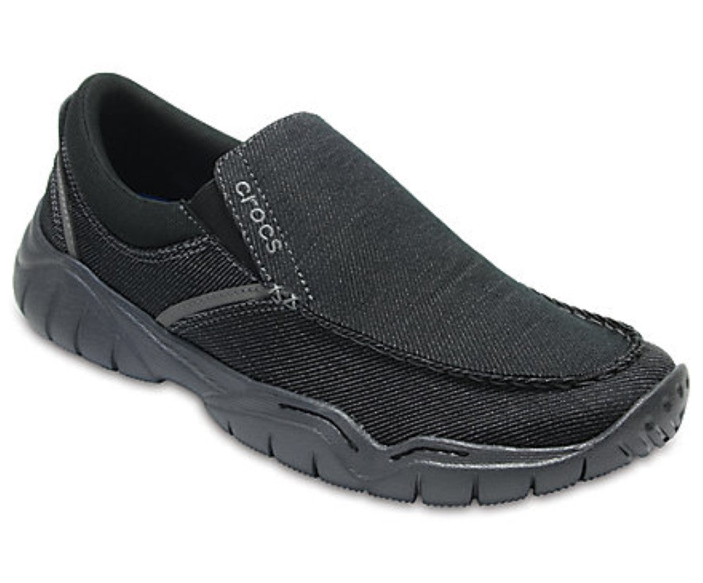 Crocs Mens Swiftwater Casual Slip-On Shoes 204694 - The Smooth Shop