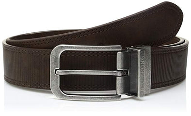Billabong Mens Split Reversible Belt MABLJSPL,Chocolate,XL - The Smooth Shop