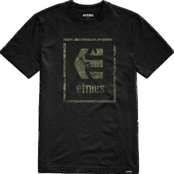 Etnies Mens Bloodline Icon T-Shirt 4130003493, Black, L - The Smooth Shop