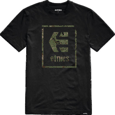 Etnies Mens Bloodline Icon T-Shirt 4130003493, Black, M - The Smooth Shop