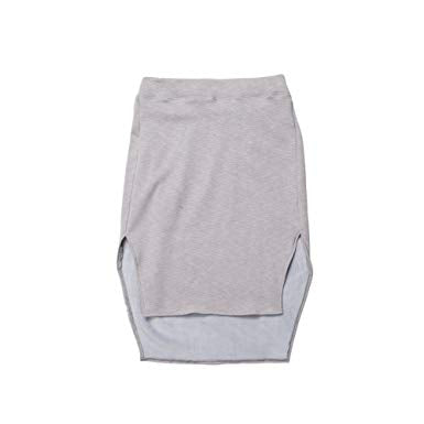 Publish Womens Alize Knit Skirt P1701027,Charcoal,M - The Smooth Shop