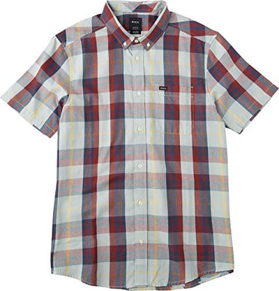 RVCA Mens WAAS 2 Short Sleeve Shirt ML526WAS - The Smooth Shop