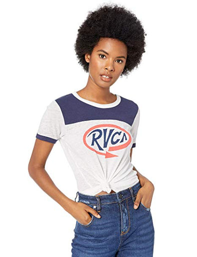 RVCA Womens Looped T-Shirt W410QRLO - The Smooth Shop