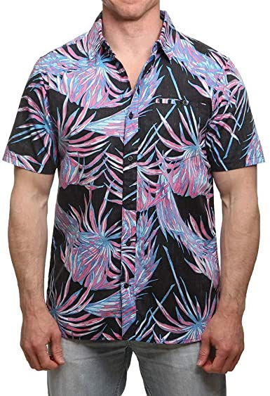 Hurley Mens Koko Short Sleeve Shirt AH4888 - The Smooth Shop