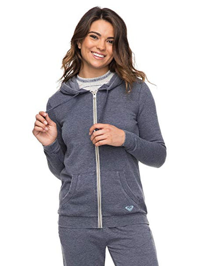 Roxy Womens Groovy Stardust Begin Again Zip Up Hoodie ARJFT03532 - The Smooth Shop