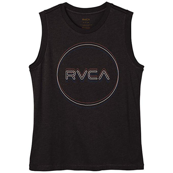 RVCA Womens Tri-Motors T-Shirt W408QRTR - The Smooth Shop