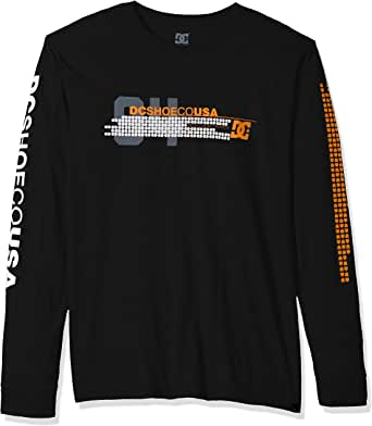 DC Shoes Mens Mad Racer Long Sleeve T-Shirt ADYZT04253 - The Smooth Shop