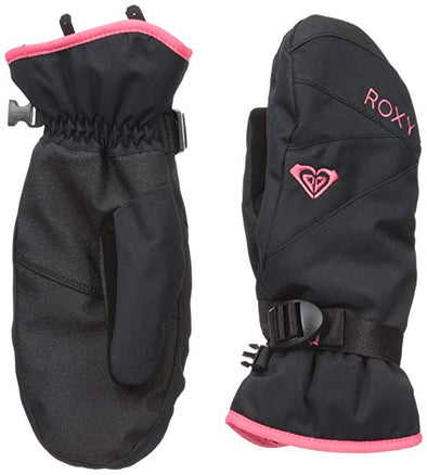 Roxy Womens Roxy Jetty Solid Mitt ERJHN03043,True Black,S - The Smooth Shop