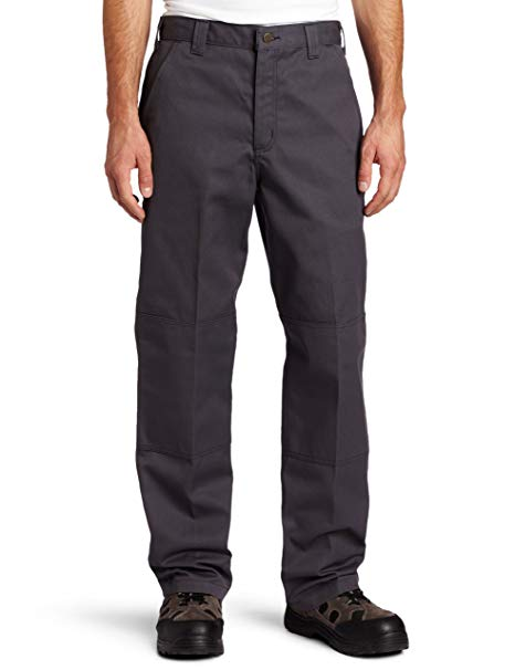 Carhartt Mens Twill Double Front Work Pant B316, Dark Grey, 42x30 - The Smooth Shop