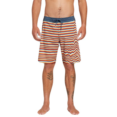 Volcom Mens Aura Stoneys Boardshorts, Yellow Orange, 36 - The Smooth Shop