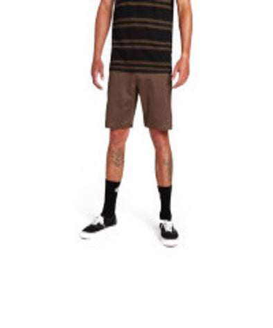 Volcom Mens Lightweight Shorts, Major Brown, 33 - The Smooth Shop