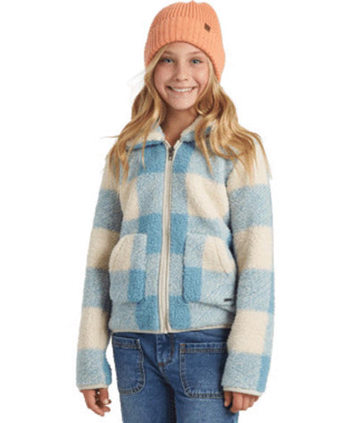 Billabong Girls Warm & Cozy Polar Fleece Jacket - The Smooth Shop