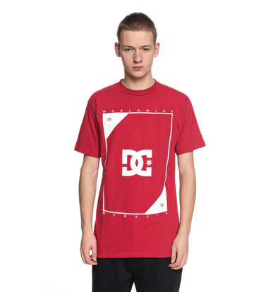 DC Shoes Mens Theroy T-Shirt ADYZT04226 - The Smooth Shop