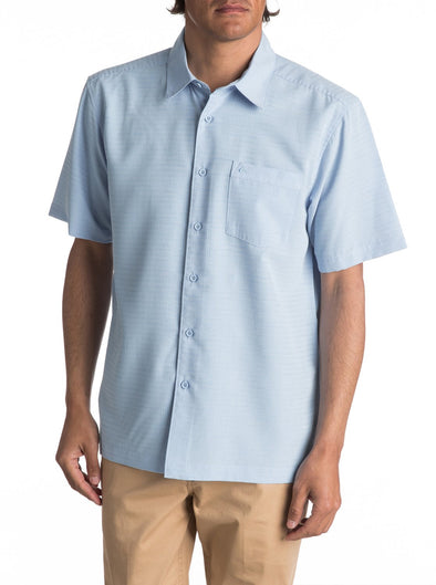 Quiksilver Mens Centinela Short Sleeve Shirt AQMWT03106 - The Smooth Shop
