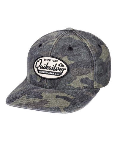 Quiksilver Mens Polisher Snapback Hat - The Smooth Shop