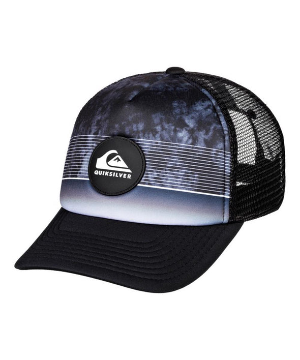 Quiksilver Mens Stripe Pipes Trucker Hat - The Smooth Shop