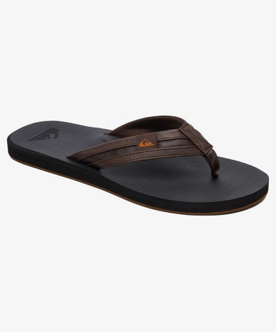 Quiksilver Mens Carver S Quiksilveruish Sandals - The Smooth Shop