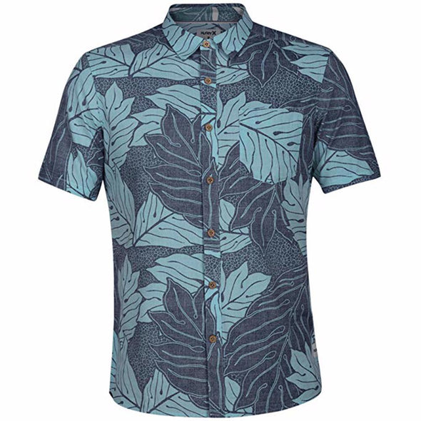 Hurley Mens Sig Zane Eleloa Pocket Woven Shirt AR1707 - The Smooth Shop