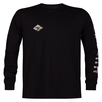 Hurley Boys Fronds Long Sleeve T-Shirt AR4111 - The Smooth Shop