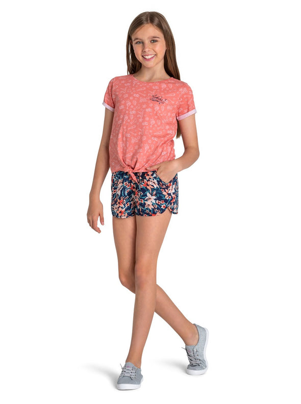 Roxy Girls 7-14 Ariel Disney Sunny Sunny D Shorts - The Smooth Shop