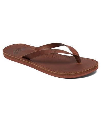 Roxy Womens Brinn Leather Flip Flop Sandals - The Smooth Shop