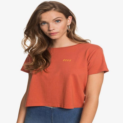 Roxy Womens Retro Ocean Cropped T-Shirt - The Smooth Shop