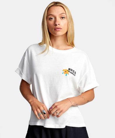 RVCA Womens Wish You T-Shirt - The Smooth Shop