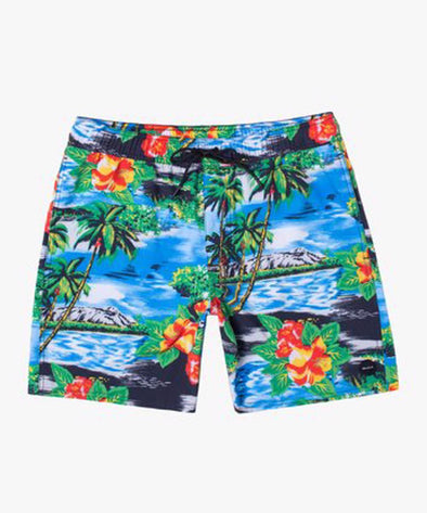 "RVCA Mens VA Elastic Boardshorts 17"" - The Smooth Shop"