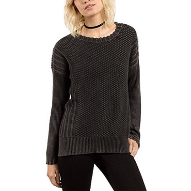 Volcom Womens Twisted Mr Sweater B0731700 - The Smooth Shop