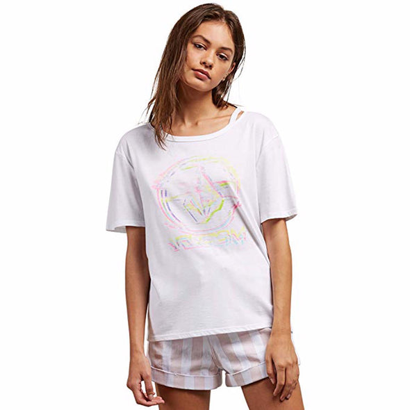 Volcom Womens Steezy Breeze T-Shirt B3521805 - The Smooth Shop