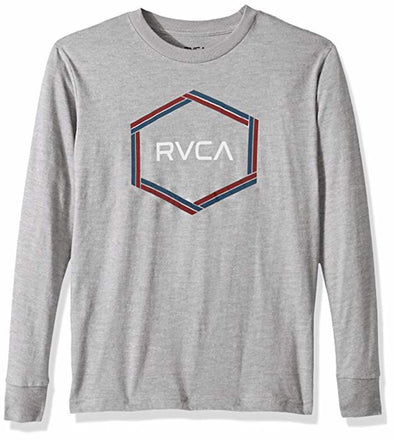 RVCA Boys Hexest Long Sleeve T-Shirt B453QRHE - The Smooth Shop