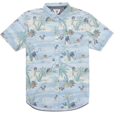 Vissla Boys DaFiN Point Panic Woven Shirt - The Smooth Shop