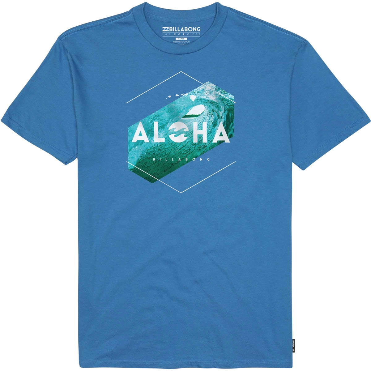 Billabong Mens Aloha Hex Short Sleeve T-Shirt M400GHHI - The Smooth Shop
