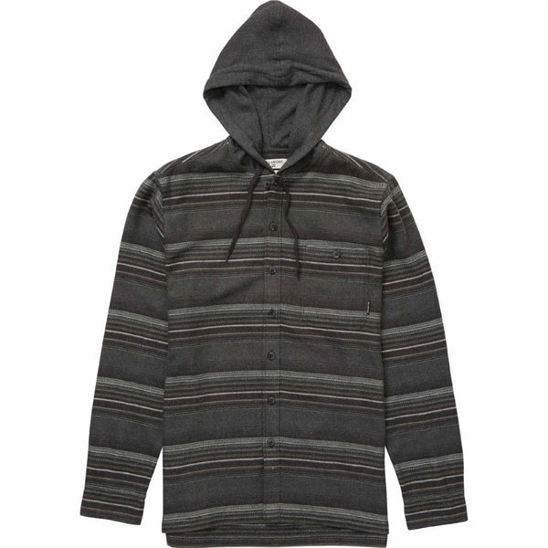 Billabong Mens Baja Hooded Flannel M524NBBA - The Smooth Shop