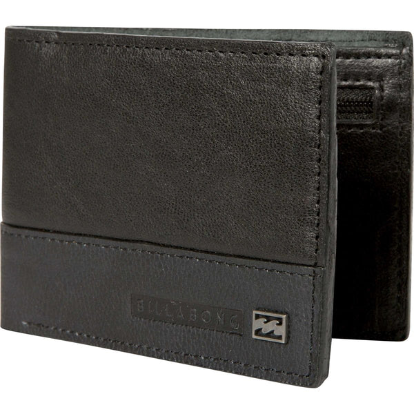 Billabong Mens Exchange Slim Wallet MAWTEEXS,Black,OFA - The Smooth Shop