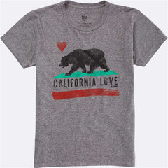 Billabong Womens Cali Bear Original T-Shirt J453HCAL - The Smooth Shop