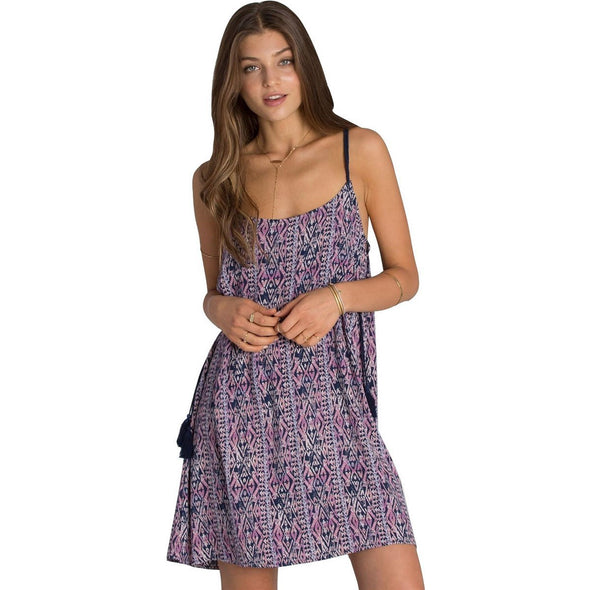 Billabong Womens Cosmic Dreamer Print Dress JD20GCOS - The Smooth Shop