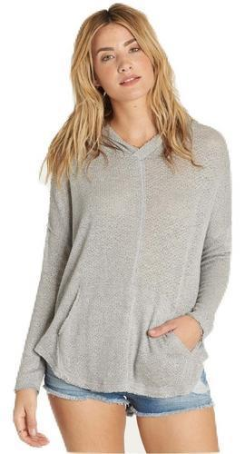 Billabong Womens These Days Pullover Hoodie J930MTHE - The Smooth Shop