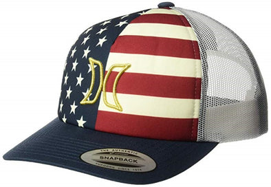 Hurley Womens USA Trucker Hat - The Smooth Shop