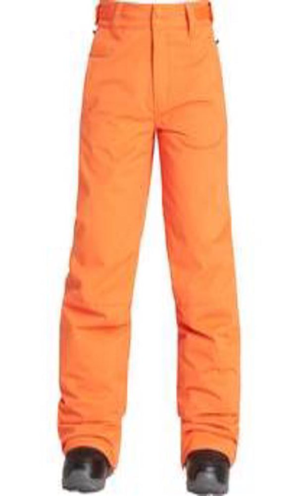 Billabong Boys Grom Outerwear Pants, Puffin Orange, L - The Smooth Shop