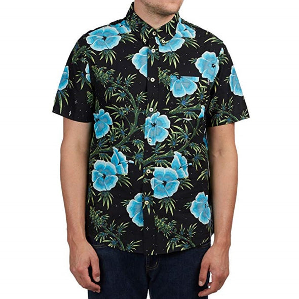 Huf Mens Herrer Button-Up Shirt BU00027 - The Smooth Shop