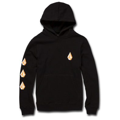 Volcom Boys Big Boys Deadly Stone Pullover Hoodie - The Smooth Shop