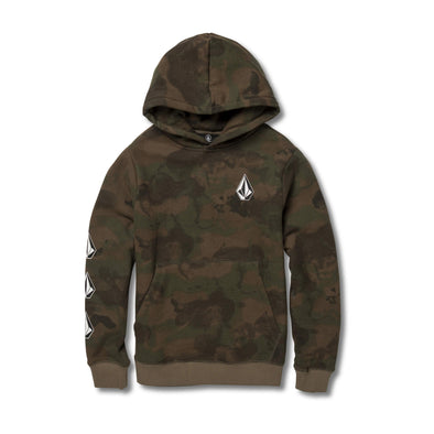 Volcom Boys Big Boys Deadly Stones Pullover Hoodie C4131805 - The Smooth Shop