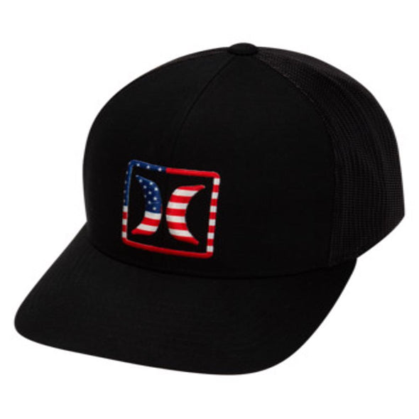Hurley Mens USA Trucker Hat - The Smooth Shop